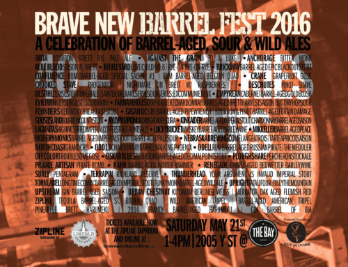 Brave New Barrel Fest Beer List