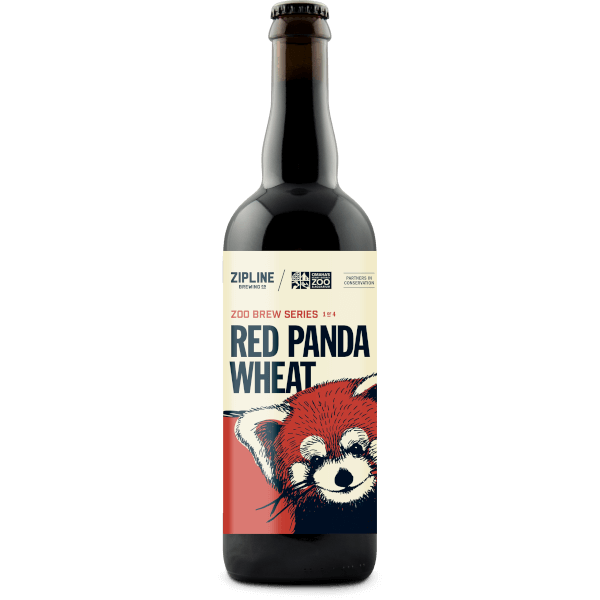 red panda wheat - zipline brewing co.