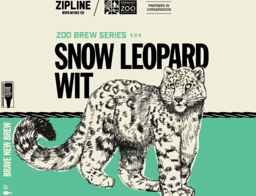 Last but not least, the fourth brew in the Zoo Brew Series: Snow Leopard Wit