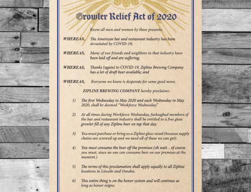 Announcing the Growler Relief Act of 2020!