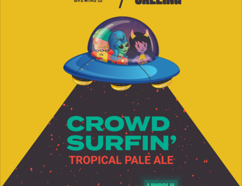 Lincoln Calling and Zipline Brewing Co. Collaborate on Crowd Surfin' Tropical Pale Ale